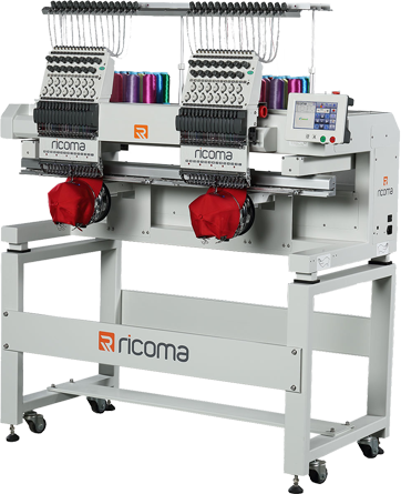 Ricoma MT 2 Head Machine